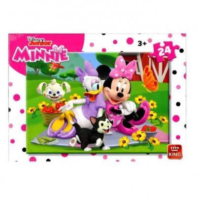 Puzzle minnie disney junior 24 pieces enfant 3 ans et