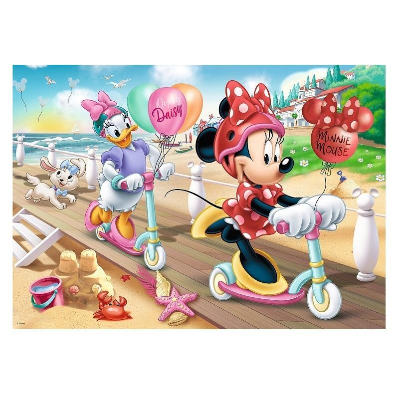 Puzzle minnie et daisy a la plage disney 200 pieces