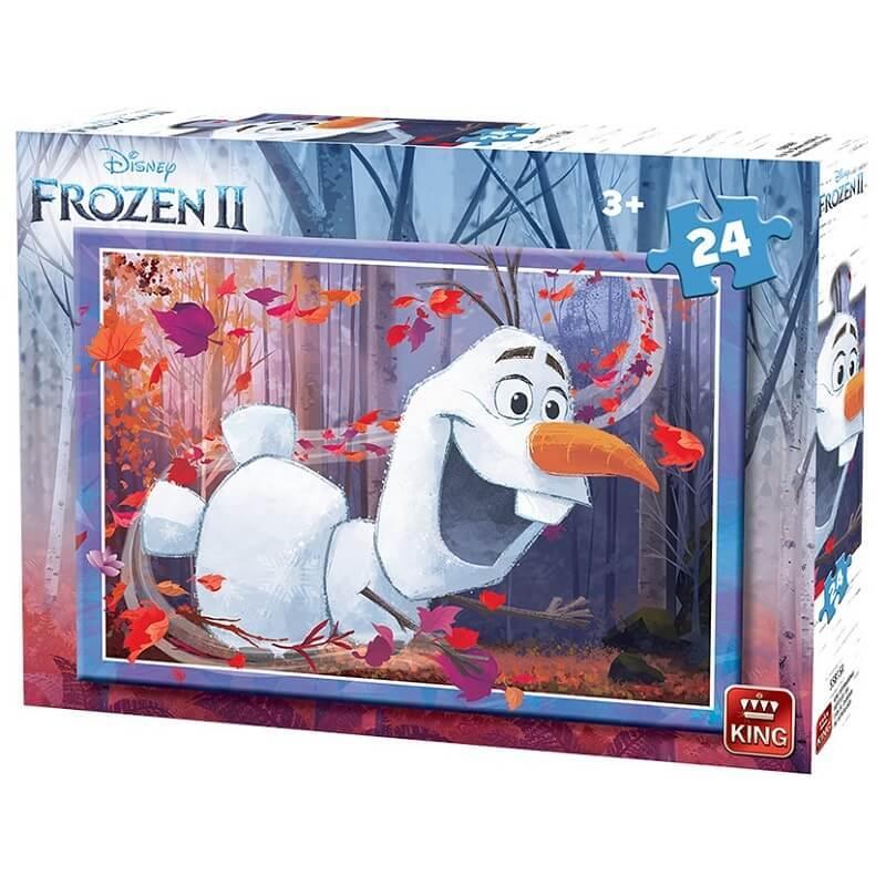 Puzzle olaf la reine des neiges 2 de 24 pieces