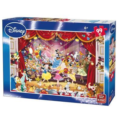 Puzzle les personnages de Disney au théâtre