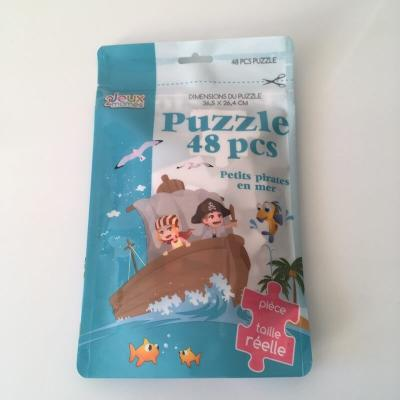 Puzzle petits pirates en mer 48 pieces