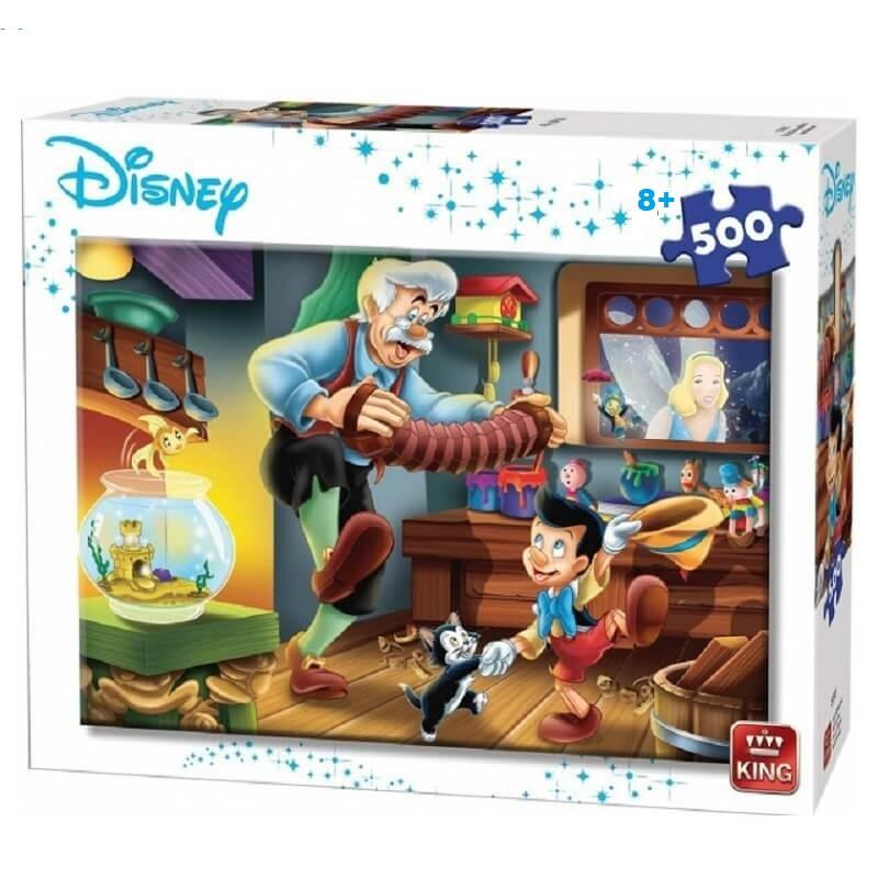 Puzzle pinocchio 500 pieces disney