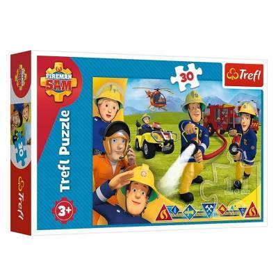 Puzzle Sam le pompier de 30 pièces Trefl