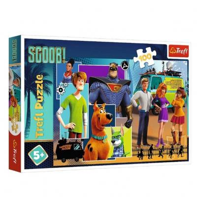 Puzzle scooby doo 100 pieces trefl