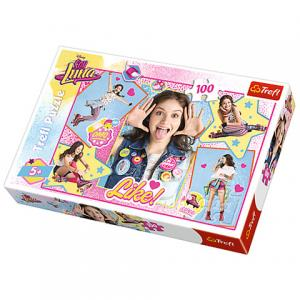 Puzzle Soy Luna enfant 100 pièces.