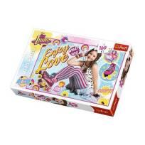 Puzzle soy luna sur patins 160 pieces idee cadeau fille