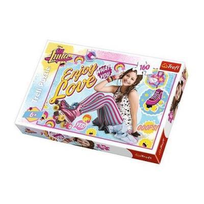 Puzzle Soy Luna sur ses patins à roulettes 160 pièces