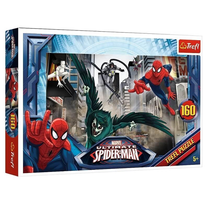 Puzzle spiderman marvel 160 pieces trefl