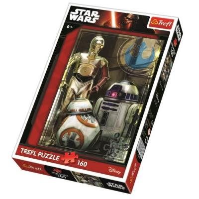 Puzzle star wars de 160 pieces disney puzzle enfant 6 ans et plus 1