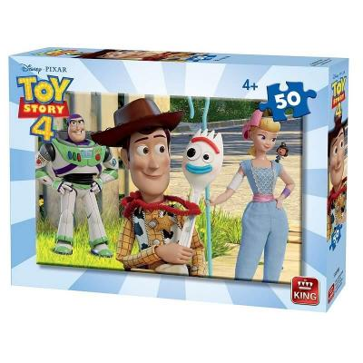 Puzzle toy story 50 pieces version 2
