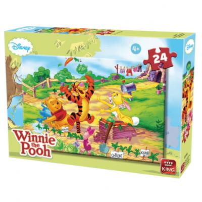 Puzzle Winnie l'ourson à la campagne de 24 pièces