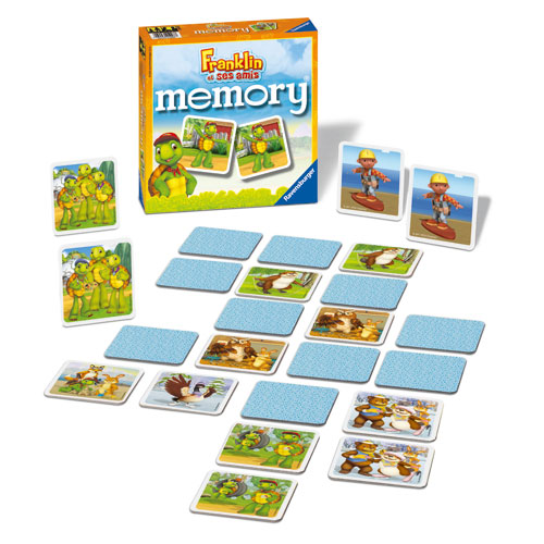 Ravensburger grand memory franklin jeu de siciete enfant