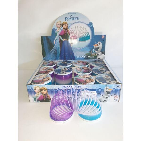 Ressort la reine des neiges jouet enfant