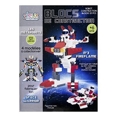 Blocs de construction enfant - Les métarobots - Version Fireflame