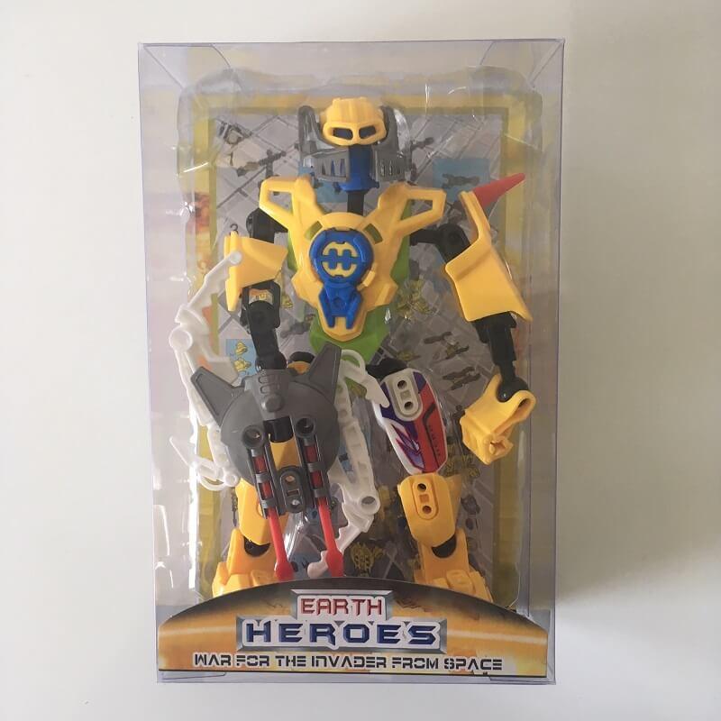 Robot jouet heros de l espace version 4