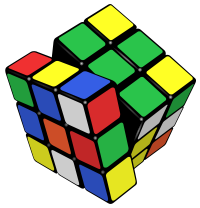 Rubik cube magique