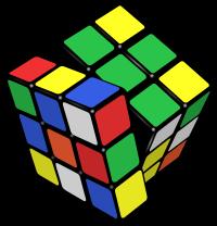 """Cube magique de type """" Rubick's Cube """" 5 CM"""
