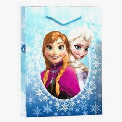 Sac cadeau La reine des neiges