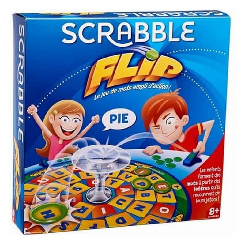 Scrabble flip mattel jeu de societe 8 ans et plus