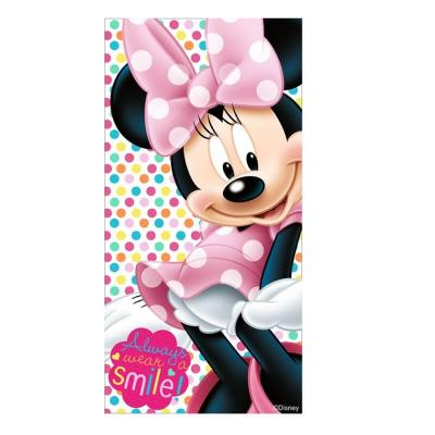 Serviette minnie disney smile