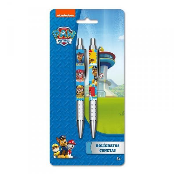 Set 2 stylos pat patrouille idee cadeau enfant utile 8422535863523