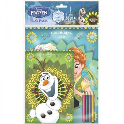 Set de coloriage La reine des neiges avec plus de 30 coloriages