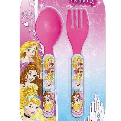 Set de couverts plastique Disney Princess