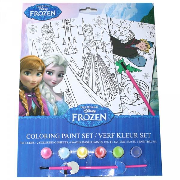 Set de peinture la reine des neiges