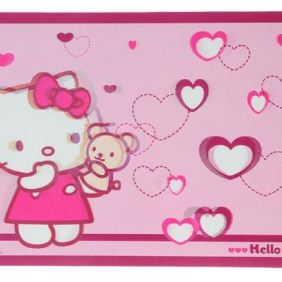 Set de table 3D Hello Kitty