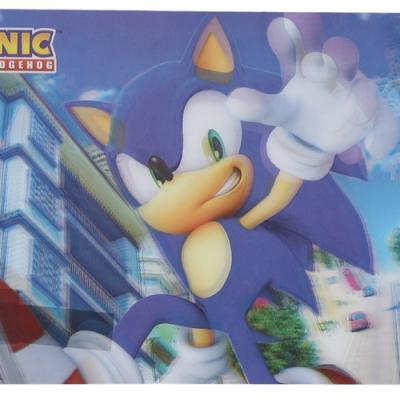 Set de table en 3D Sonic