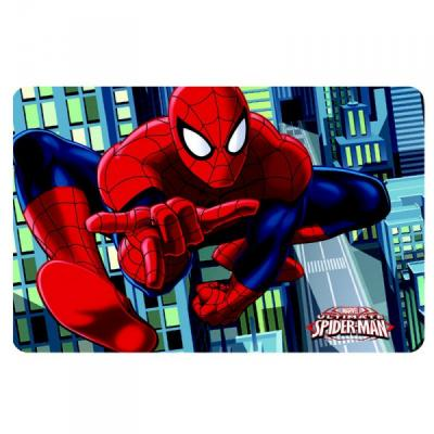 Set de table Spiderman en 3D version 2