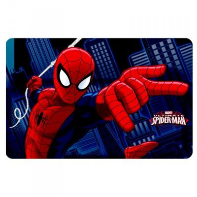 Set de table Spiderman en 3D version 1
