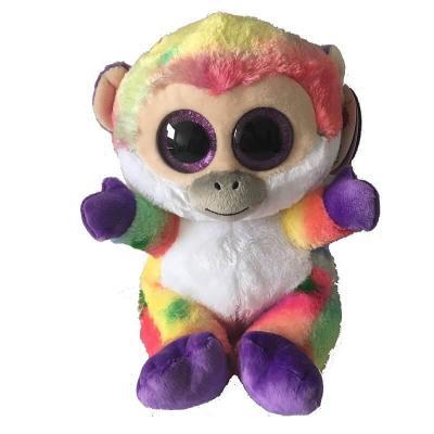 Peluche singe aux gros yeux MAXI Animotsu Fashion Keel Toys