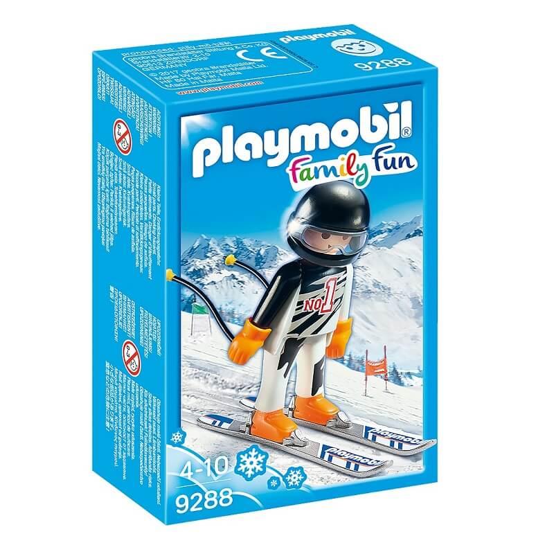 Skieur alpin playmobil