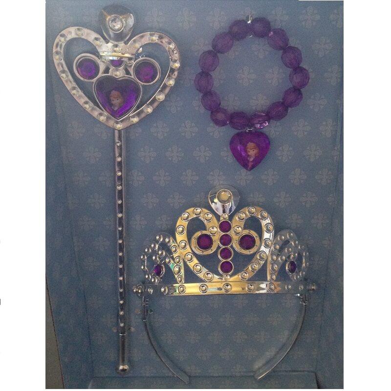 Sofia la princesse disney kit 3 accessoires