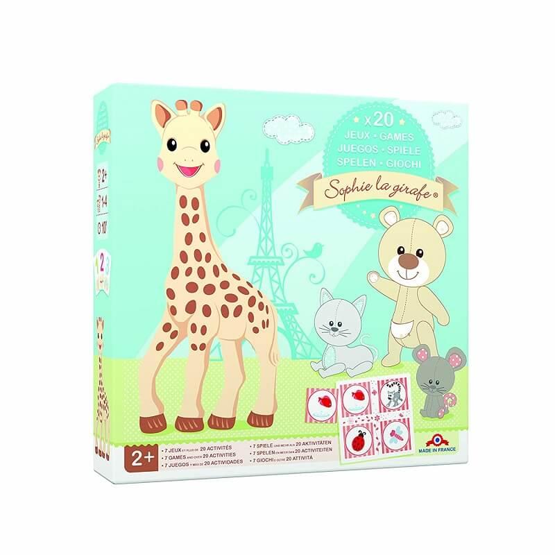 Sophie la girafe coffret multi jeux des 2 ans