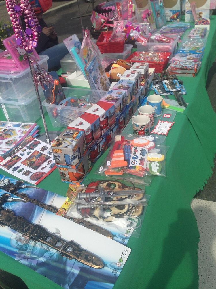 Stand cadeaux enfants pour ecole association kermesse