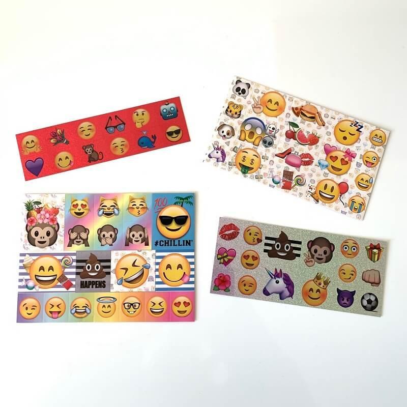 Stickers emoji phonicons