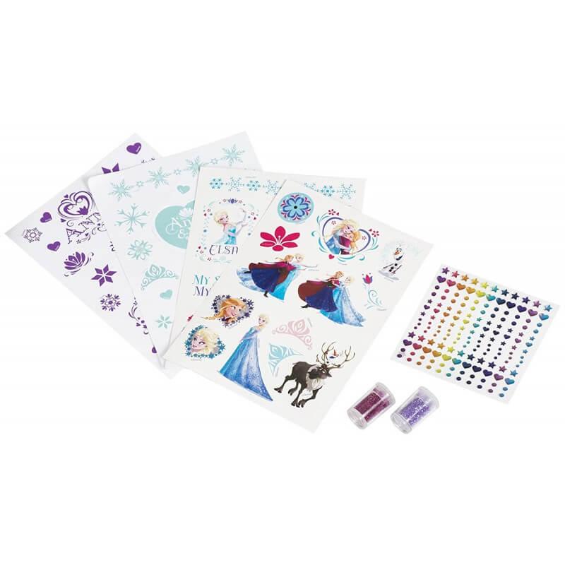 Stickers la reine des neiges kit creation disney
