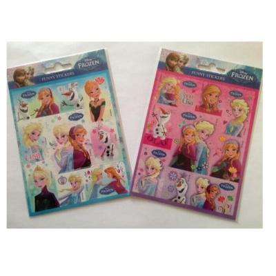 Stickers La reine des neiges sous licence Disney