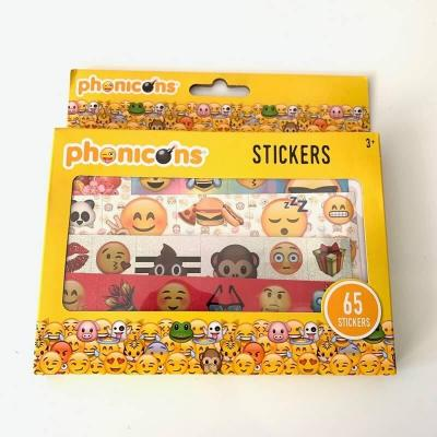 Pack de 65 stickers Phonicons Emoji