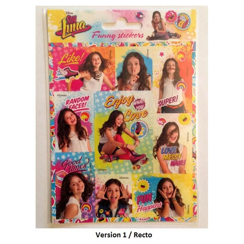 Stickers soy luna Disney