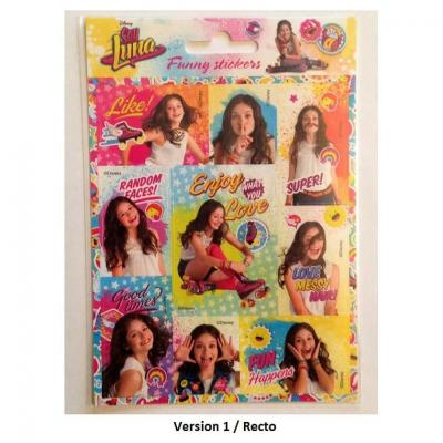 Stickers Soy Luna sous licence Disney