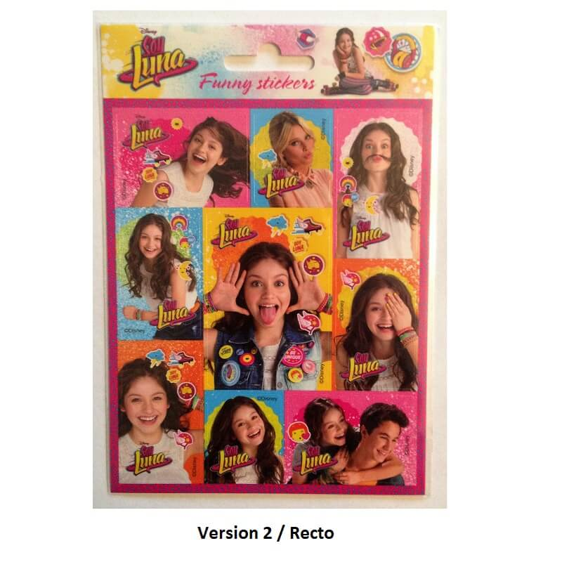 Stickers soy luna 5901130048656 version 2