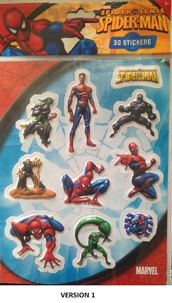 Stickers spiderman 11