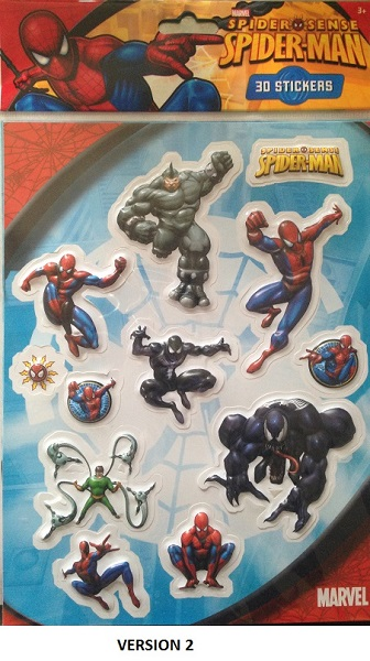Stickers spiderman 22