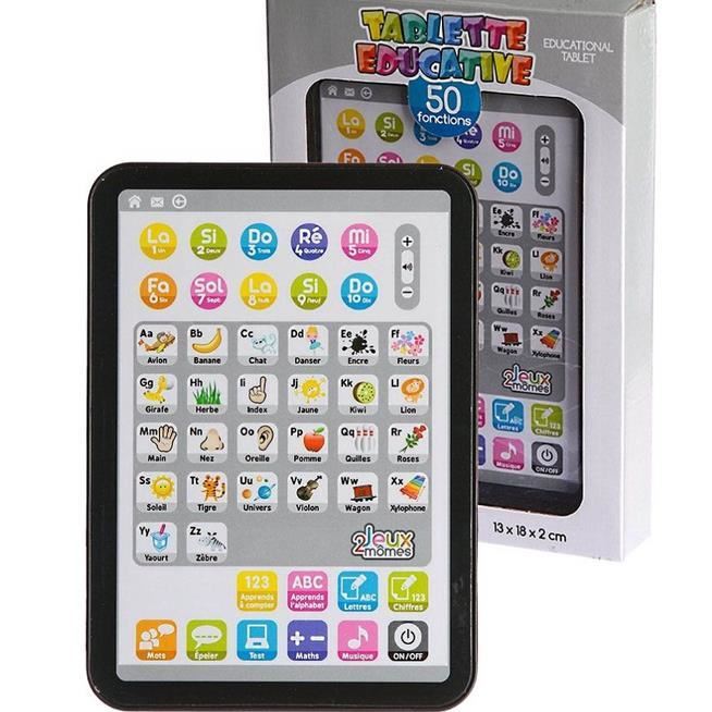 Tablette educative 50 fonctions
