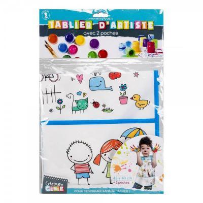 Tablier d'artiste pour les enfants