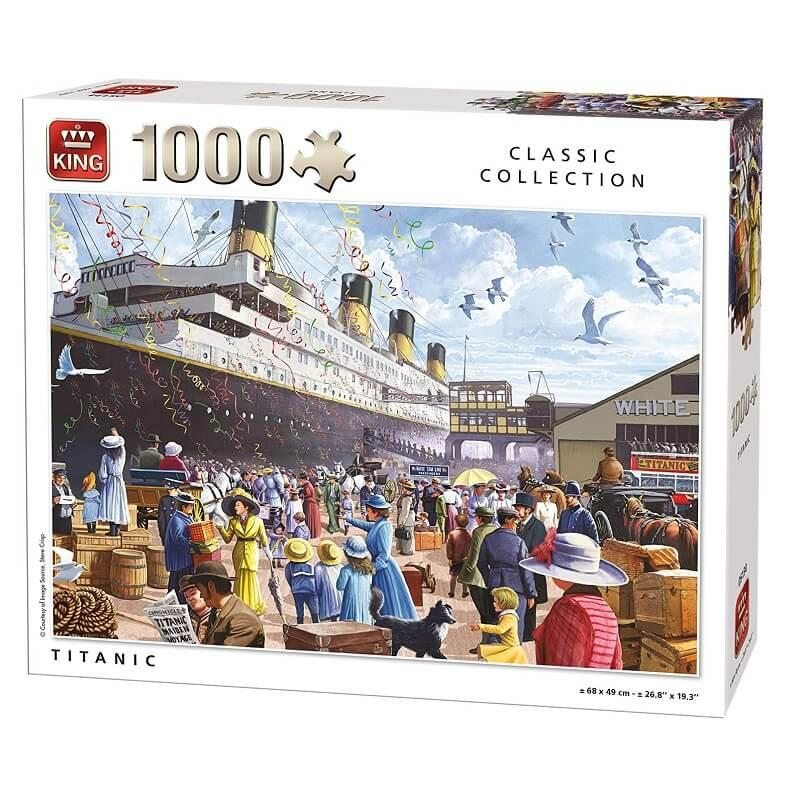 Titanic puzzle king 1000 pieces