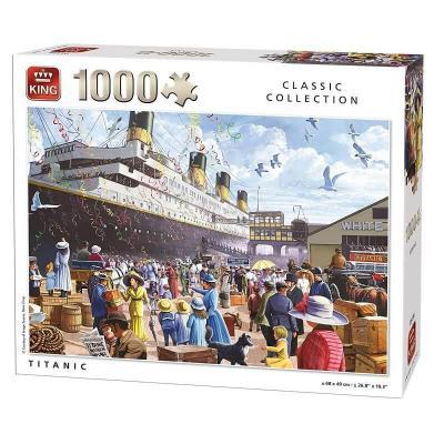 Puzzle le Titanic 1000 pièces
